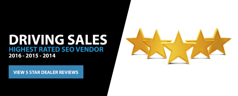 5 Star Car Dealer SEO Reviews