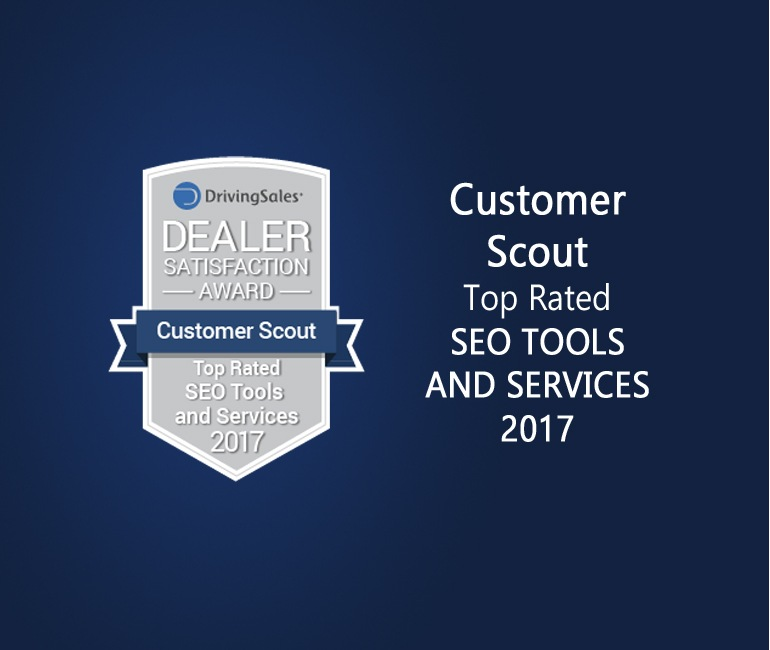 Driving Sales top rated seo award